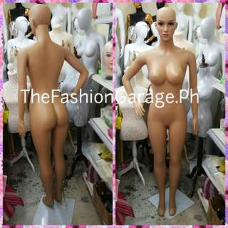 Full Body with Head Skintone Mannequin