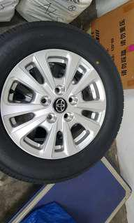 Toyota Noah new tyres and rims