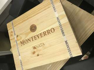 意大利原箱未開 2008年 Monteverro red Wine