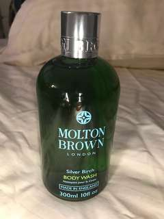 Molton Brown silverbird shower gel