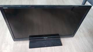 "Sharp 29"" LCD Colour TV with remote control"