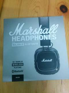 New Marshall Headphones Major II bluetooth