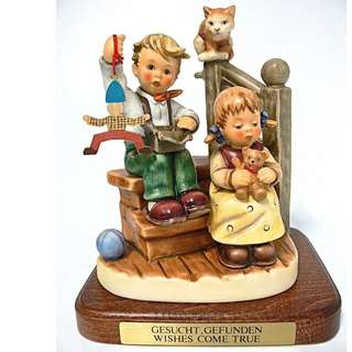 "Goebel Hummel Figurine ""Wishes Come True"" #2025A TMK 8"