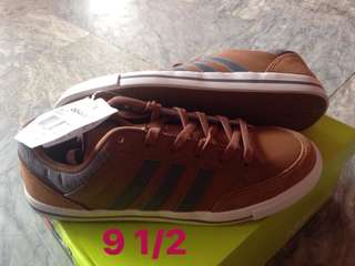 Authentic Adidas Neo Vulc Lo Brown