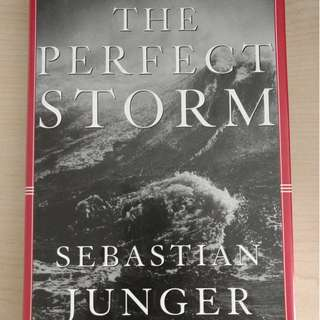 Hardbound - The Perfect Storm by Sebastian Junger