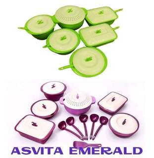 Asvita emerald set