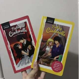 Wattpad book: Finding cinderella book 1 and 2