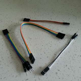 Configure Your Own Jumper Wires - Male-to-Female 10cm/20cm in 2-way, 3-way & 4-way Cables
