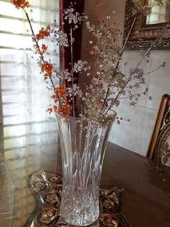 Vas bunga  kristal tinggi 30 cm