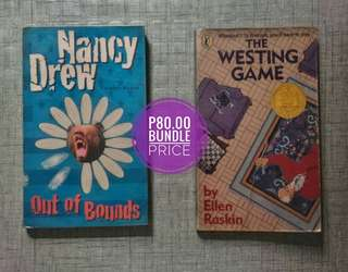 Nancy Drew,  The Westing Game