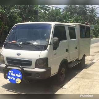 Kia Van double cab 4x4 2005 mdl