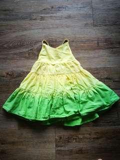 Baby Poney Dip Dye Layered Dress