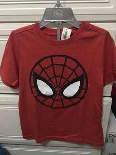 🚚 全新商品 《OLD NAVY》蜘蛛人紅色棉T <4T>