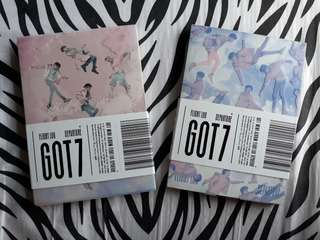 GOT7 ALBUM : Flight Log Depature