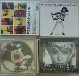 Used Music CDs Pizzicato Five