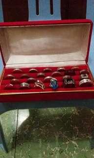 Aksesories cincin fashion + box