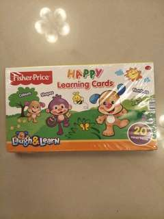 Fisher-Price Happy Learning Cards
