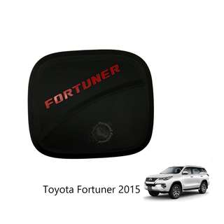 TOYOTA FORTUNER 2015 FUEL TANK COVER WITH RED WORDING FORTUNER