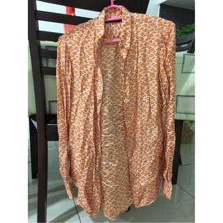 Zara Printed Shirt/Blouse