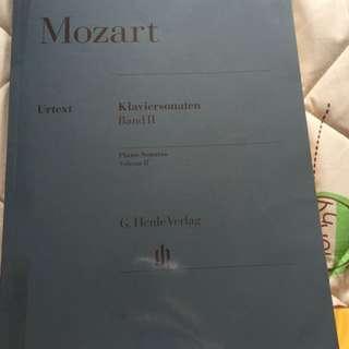 🚚 free mail! Mozart Sonata Book 2