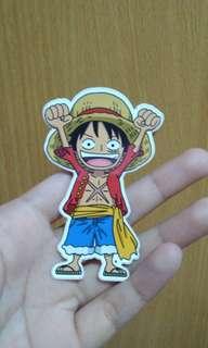 Sticker Luffy 2 One Piece