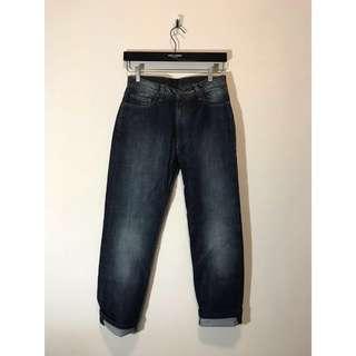VERSACE COLLECTION 深藍 牛仔褲 單寧褲