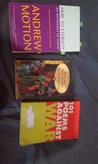 Poetry Books & Shakespeare