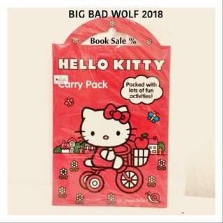 Hellokitty Books Carry Packs Buku Anak Import