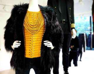 Balmain for H&M Yellow Top