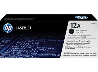 🚚 HP 12A Black Original LaserJet Toner Cartridge (Q2612A)