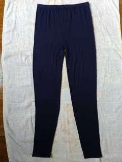 🚚 藍色彈性內搭褲