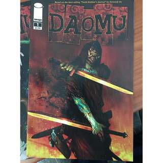 DAOMU Comic books 1 to 6