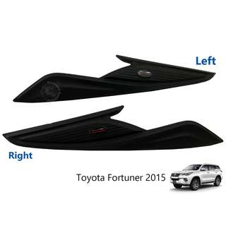 TOYOTA FORTUNER 2015 HEAD LAMP COVER BLACK (RED WORD)