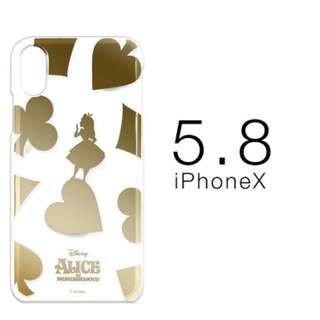**Japan Original Disney Golden Printed iPhone Soft Case **
