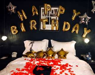 Birthday Party Decoration Planning Planner Hotel Room