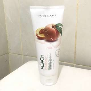 Nature Republic Cleansing Foam - Peach