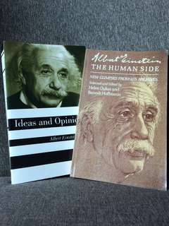 Einstein Set: Ideas and Opinions and The Human Side