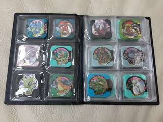 Pokemon Tretta File (60pcs) plastic