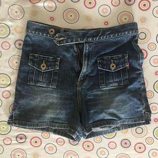 REPRICED!! Guess highwaisted shorts