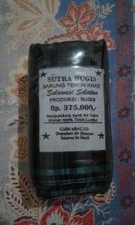 SUTRA BUGIS - Sarung Tenun Khas Sulawesi Selatan