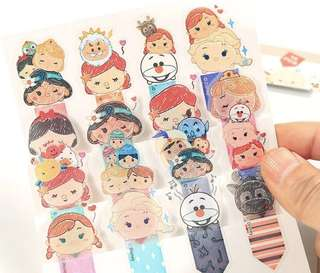 Disney Bookmark stickers