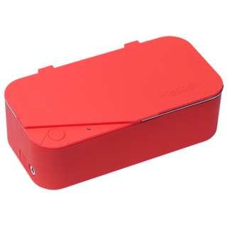 Smartclean Vision5 家用超聲波清洗眼鏡機(紅色)