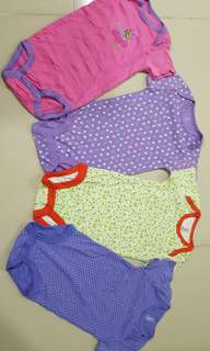 4sets of rompers