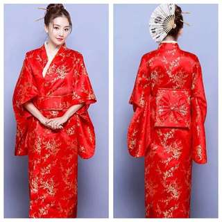 IN STOCK Japanese Kimono Japanese Traditional Costume Racial Harmony Day Costume