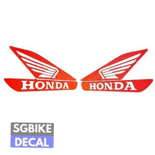 Honda Wing one pair Reflective