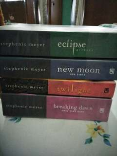 Twilight series 1-4