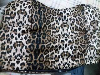 Chicabooti animal printed crop top