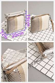 Fashion transparent bag
