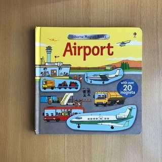 Usborne Magnet Book - Airport