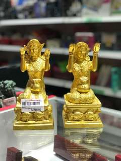 PAIR of Thai god NAMKUAT